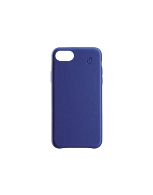 Coque cuir Beetlecase blue iPhone SE