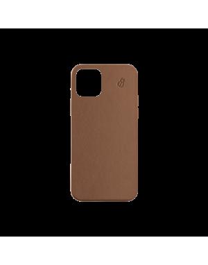 Coque cuir camel beetlecase iPhone 12