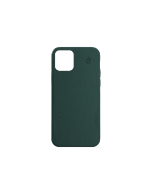 Coque cuir green beetlecase iPhone 12