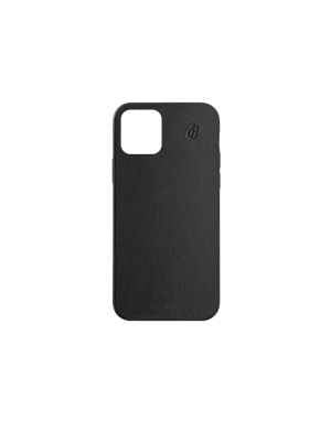 Coque cuir noir beetlecase iPhone 12 Max