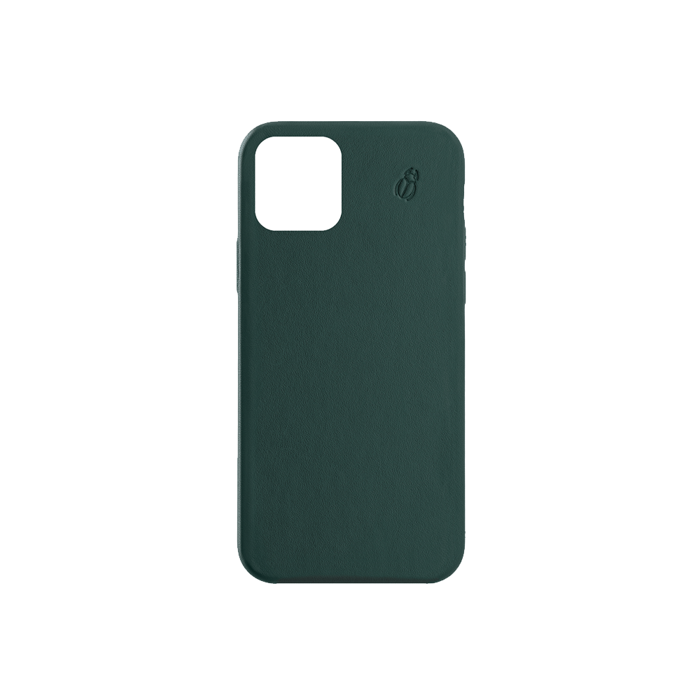 Coque cuir green beetlecase iPhone 12 Max