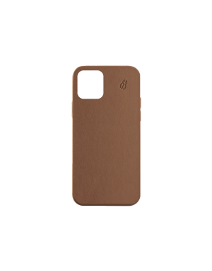 Coque cuir camel beetlecase iPhone 12 Pro