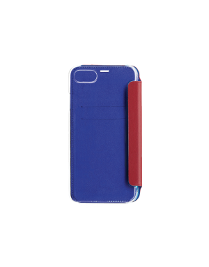 Folio crystal rouge Beetlecase iPhone 6 / 7 / 8
