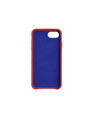 Coque cuir rouge Beetlecase iPhone 6 / 7 / 8
