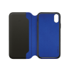 Folio cuir noir Beetlecase iPhone 6 / 7 / 8