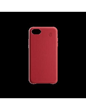 Coque cuir rouge Beetlecase iPhone 7 / 8 Plus
