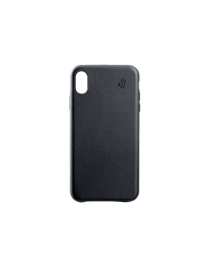 Coque cuir noir Beetlecase iPhone Xs