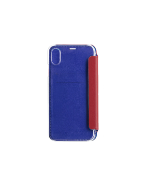 Folio crystal rouge Beetlecase iPhone Xs