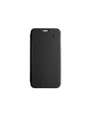 Folio crystal noir Beetlecase iPhone Xs