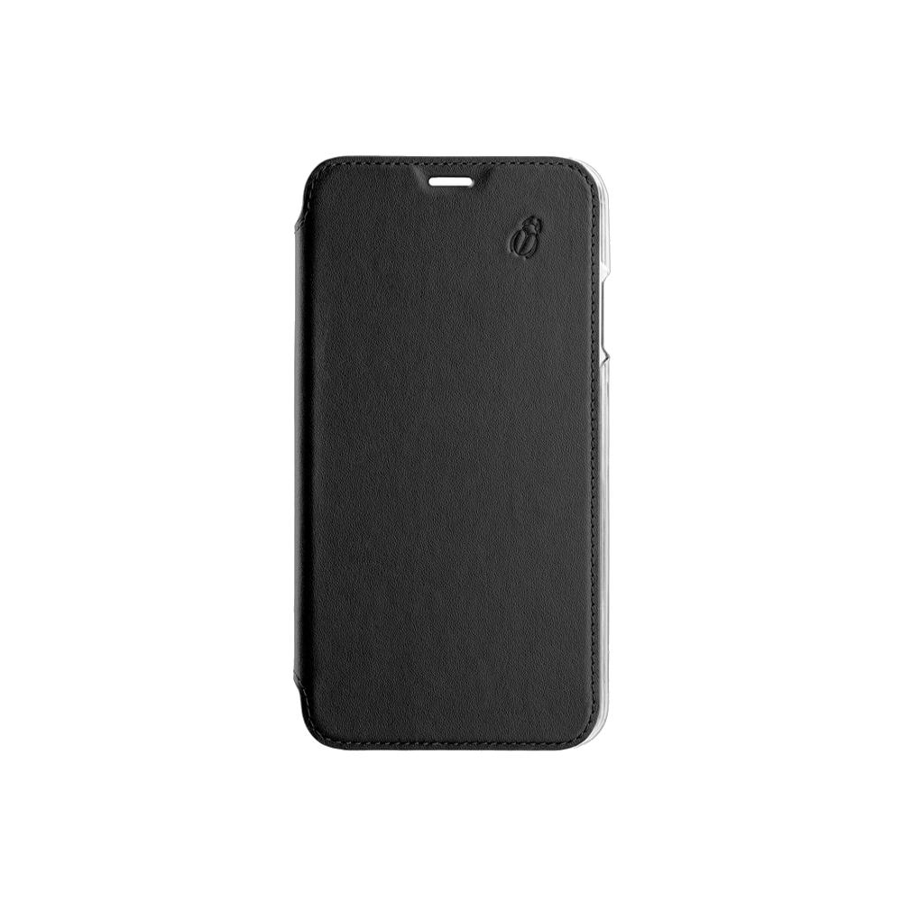 Folio crystal noir Beetlecase iPhone Xs