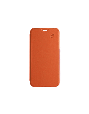 Folio crystal orange Beetlecase iPhone Xs