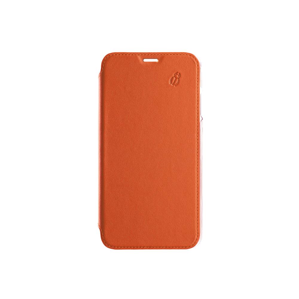 Folio crystal orange Beetlecase iPhone Xs