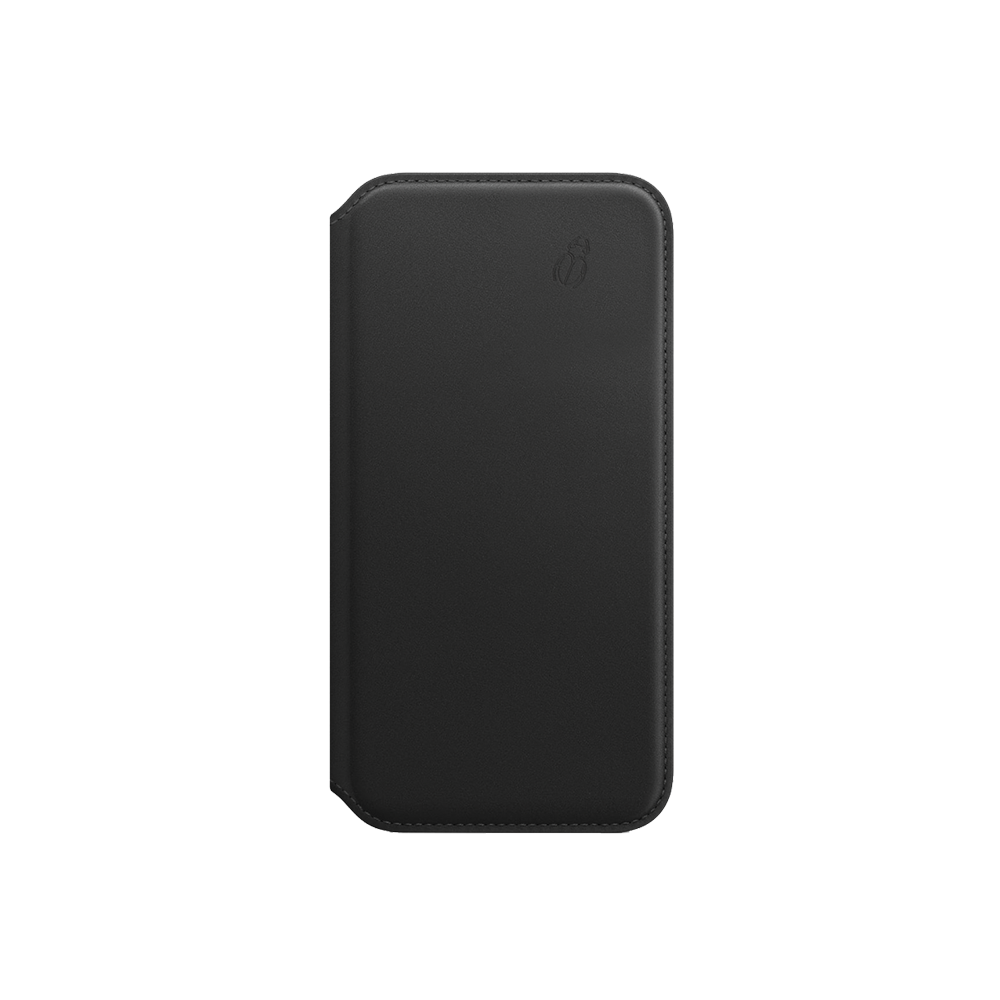 Folio cuir Beetlecase iPhone Xs