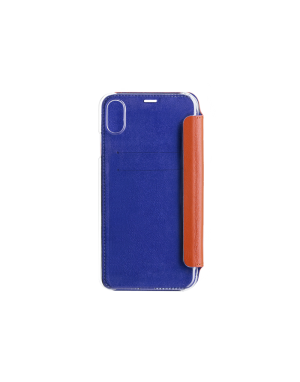 Folio crystal orange Beetlecase iPhone Xr