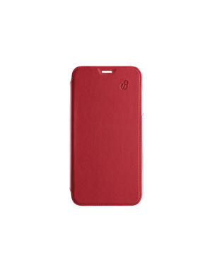 Folio crystal rouge Beetlecase iPhone Xr