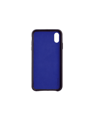 Coque cuir noir Beetlecase iPhone Xr