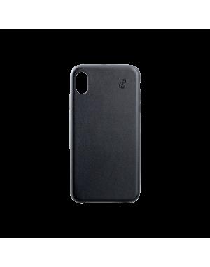 Coque cuir noir Beetlecase iPhone Xr