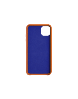 Coque cuir orange Beetlecase iPhone 11 Pro