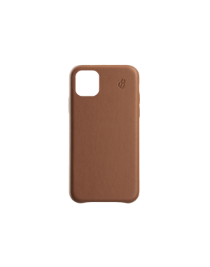 Coque cuir camel Beetlecase iPhone 11 Pro