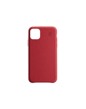 Coque cuir rouge Beetlecase iPhone 11
