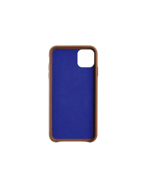 Coque cuir camel Beetlecase iPhone 11