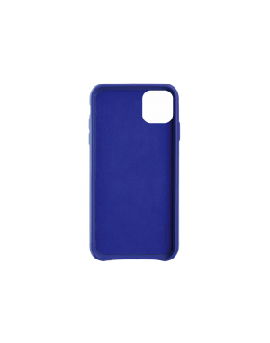 Coque cuir bleu Beetlecase iPhone 11