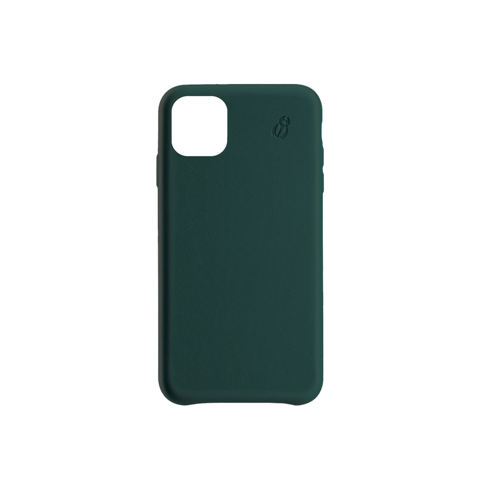 Coque cuir vert Beetlecase iPhone 11 Pro