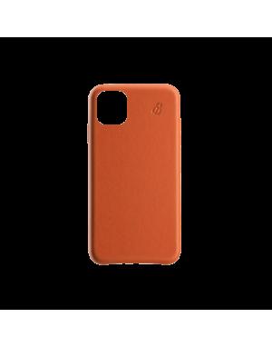 Coque cuir orange Beetlecase iPhone 11 Pro Max