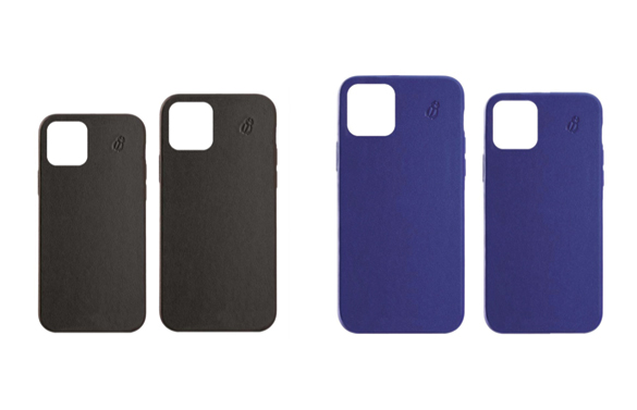 Coque de protection en cuir collection iPhone 12