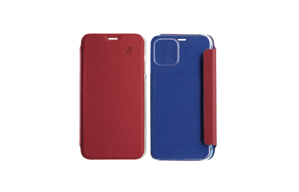 Coque de protection en cuir iPhone 12