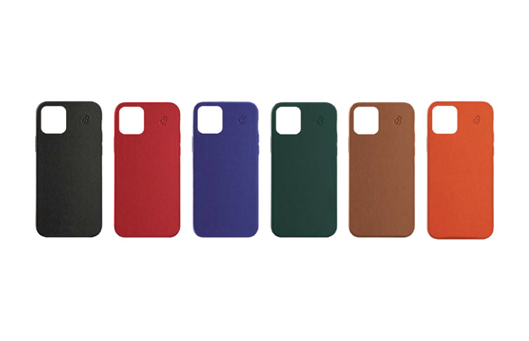 Full grain leather iPhone 12 case collection